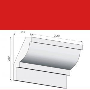 Deckenabschlussleiste FE5 - 25 cm