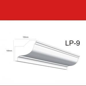 Deckenleiste LP9 - 10 cm