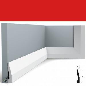 Fussleiste 6 x 1,2 cm SX159 Orac Decor
