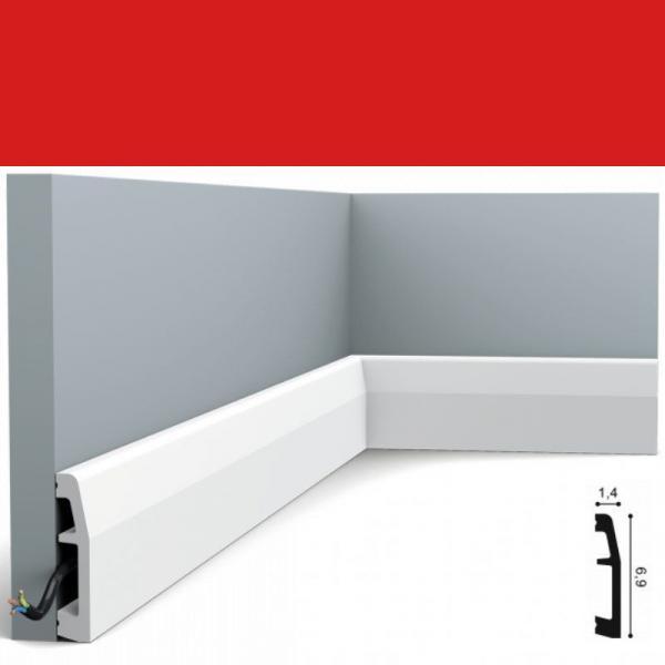 Fussleiste 6,9 x 1,4 cm SX125 Orac Decor