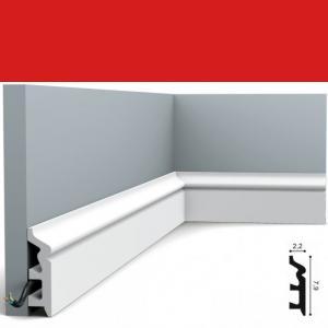 Fussleiste 7,9 x 2,2 cm SX122 Orac Decor