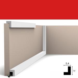 Wandleiste 2,4 x 3 cm PX164 Orac Decor