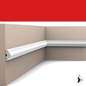 Wandleiste 2,5 x 1,2 cm PX103 Flexible Orac Decor