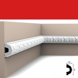 Wandleiste 4,4 x 2,6 cm P2020 Flexible Orac Decor