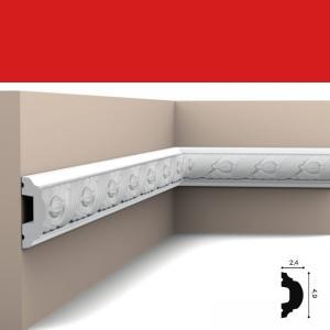 Wandleiste 4,9 x 2,4 cm P1020 Flexible Orac Decor