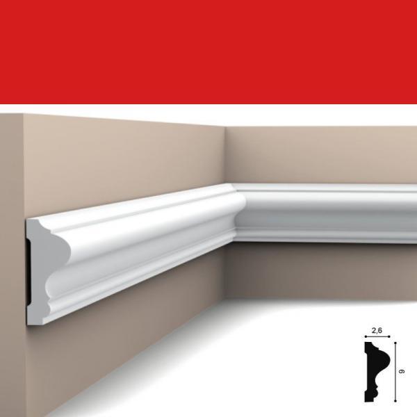 Wandleiste 6 x 2,6 cm P8020 Flexible Orac Decor