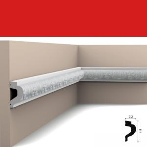 Wandleiste 6,1 x 3,2 cm P3020 Flexible Orac Decor