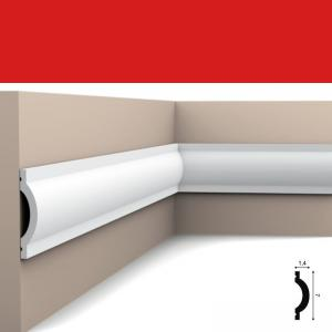 Wandleiste 7 x 1,4 cm P9901 Flexible Orac Decor